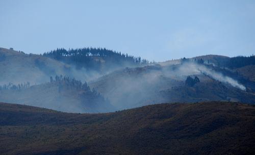 Waldbrand in Bolivien